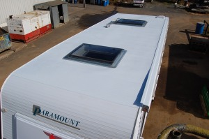 Caraven roof waterproofed