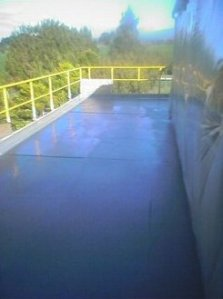 Industrial Terrace Waterproofed