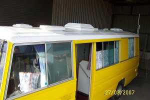 Motor Home Roof waterproofed